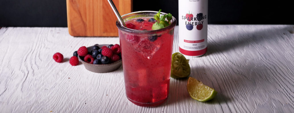 Beeren Minze Cocktail